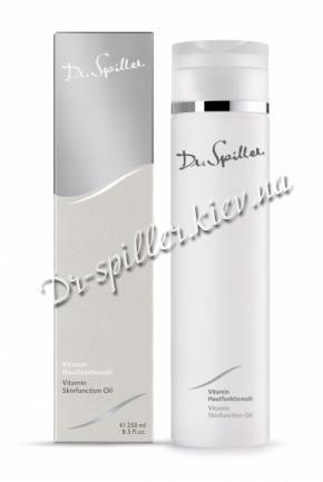 Массажное масло для лица и тела с витаминами Доктор Шпиллер Vitamin Skin Function Oil Dr Spiller Biocosmetic