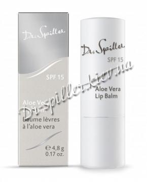 Бальзам для губ с Алоэ и витамином Е Доктор Шпиллер Aloe Vera Lip Balm Dr Spiller Biocosmetic