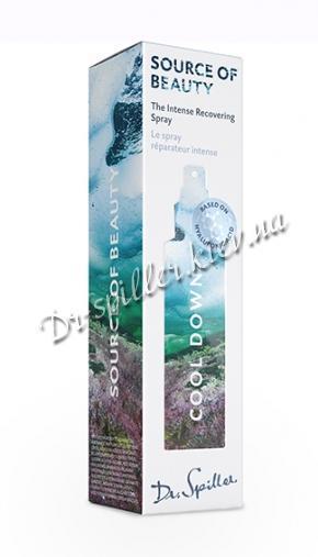 Успокаивающий и восстанавливающий спрей Доктор Шпиллер Cool Down — Source of Beauty Dr Spiller Biocosmetic
